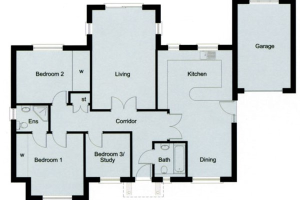 The Barberry Floorplan